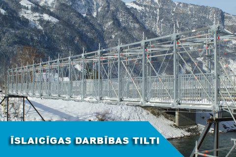 Īslaicīgas darbības tilti un pārejas