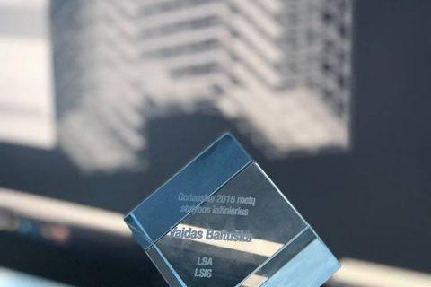 Layher Baltic įmonėje dirbantis inžinierius – geriausias Lietuvos 2016 metų inžinierius!