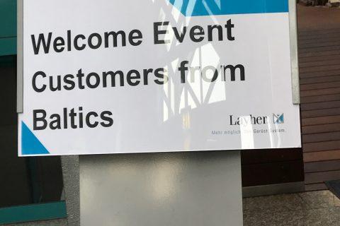 Vokietijoje Layher gamykloje įvyko pirmi Event grupės apmokymai