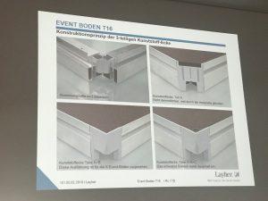 Vokietijoje Layher gamykloje įvyko pirmi Event grupės apmokymai 2