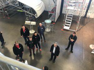 Vokietijoje Layher gamykloje įvyko pirmi Event grupės apmokymai 3