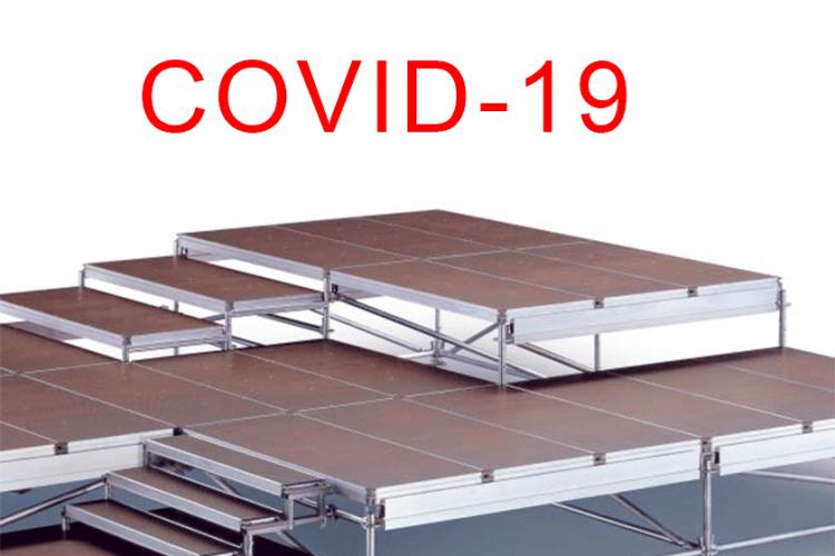 Covid-19 renginių sprendimai su Layher